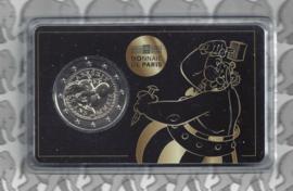 """Frankrijk 2 euromunt CC 2019 """"Asterix"""", in coincard afbeelding Obelix"""
