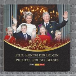 "België BU set 2014 ""Filip, Koning der Belgen"""