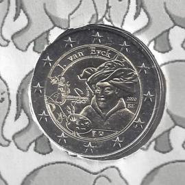 "België 2 euromunt CC 2020 (25e)""Jan van Eyck jaar"""