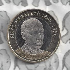 "Finland 5 euromunt 2017 (55e) ""Presidenten, Risto Ryti"""