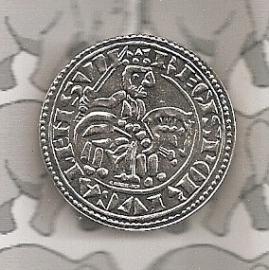 """Portugal 1,5 euromunt 2009 """"Koning Sancho I"""""""