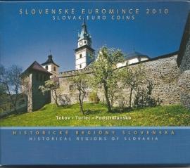 """Slowakije BU set 2010 """"Historische Regione"""""""