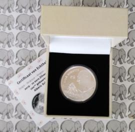 """België 10 euromunt 2019 """"100e geboortedag Albéric Schotte"""", proof, zilver in blauw doosje met certificaat"""