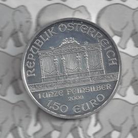 """Oostenrijk 1,5 euromunt 2008 """"Wiener Philharmoniker"""""""