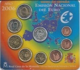 Spanje BU set 2006 (met penning Columbus)