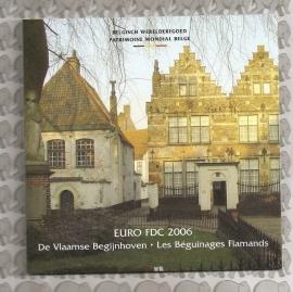 """Belgié BU set 2006 """"de Vlaamse Begijnhoven"""""""