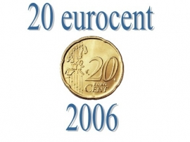 Portugal 20 eurocent 2006