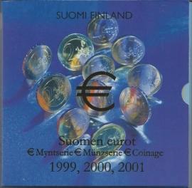 "Finland BU set 1999-2000-2001 ""Tripleset"""