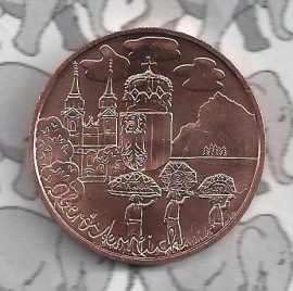 "Oostenrijk 10 euromunt 2016 (30e) ""Oberösterreich"" (Brons)"
