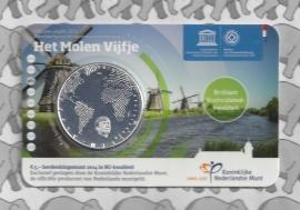 "Nederland 5 euromunt 2014 (28e) ""Het Molen vijfje"" (BU, met nummer in coincard)"