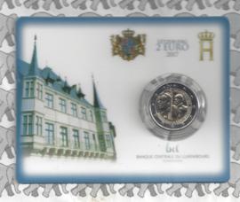 "Luxemburg 2 euromunt CC 2017 ""Willem III"" (in coincard)"