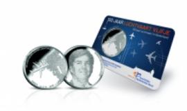 "Nederland 5 euromunt 2019 (41e) ""Luchtvaart vijfje"" (BU met nummer in coincard)"