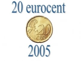 Luxemburg 20 eurocent 2005