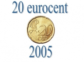 Portugal 20 eurocent 2005