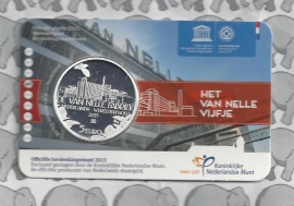 "Nederland 5 euromunt 2015 (30e) ""van Nelle vijfje"" (in coincard)"