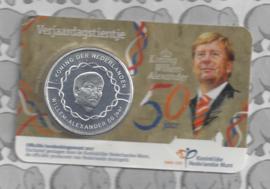 "Nederland 10 euromunt 2017 (33e) ""Verjaardags tientje"" (in coincard)"