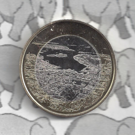 "Finland 5 euromunt 2018 (60e) ""Haven Helsinki"""