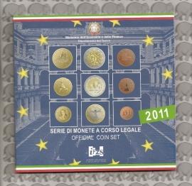 Italië BU set 2011 (9 munten)