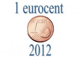 Estland 1 eurocent 2012