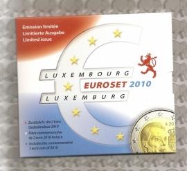 Luxemburg FDC set 2010