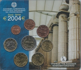 Griekenland BU set 2004