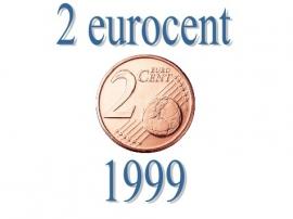 België 2 eurocent 1999