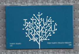 "Estland 2 euromunt CC 2020 ""100 jaar Vrede van Tartu"" in coincard"