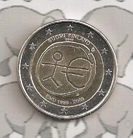 """Finland 2 euromunt CC 2009 """"EMU"""""""