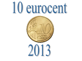 Luxemburg 10 eurocent 2013