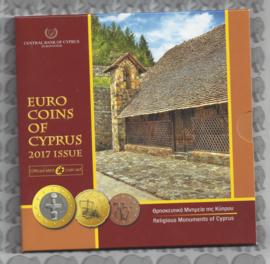 Cyprus BU set 2017