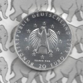 """Duitsland 20 euromunt 2019 (19e) """"100 Jahre Weimarer Reichsverfassung"""", zilver"""