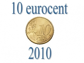 Luxemburg 10 eurocent 2010