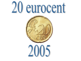 Ierland 20 eurocent 2005