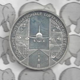"Duitsland 10 euromunt 2009 (41e) ""100 Jaar Int.Luchtvaart tentoonstelling"" (nikkel)."