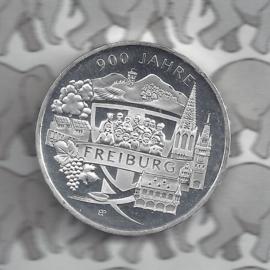 "Duitsland 20 euromunt 2020 (24e) ""900 Jahre Freiburg"", zilver"