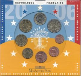 Frankrijk BU set 2006