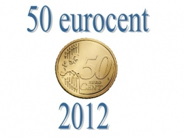Luxemburg 50 eurocent 2012