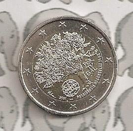 """Portugal 2 euromunt CC 2007 (1e)""""EU voorzitter"""""""