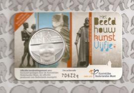"Nederland 5 euromunt 2012 (21e) ""Beeldhouwkunst"" (in coincard)"
