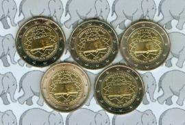 "Duitsland 2 euromunt CC 2007 ""Verdrag van Rome"" (5 letters)"