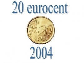 Luxemburg 20 eurocent 2004