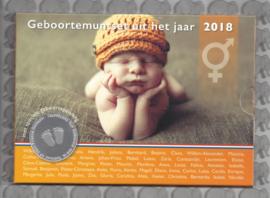 Nederland BU babyset 2018 (neutraal)