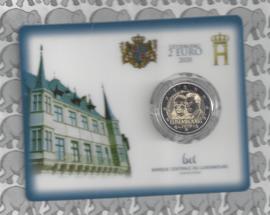 "Luxemburg 2 euromunt CC 2020 ""Prins Hendrik"" (in coincard)"