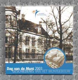 """Nederland BU set 2003 """"Dag van de munt"""""""
