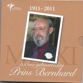 "Nederland BU set 2011 ""100e geboortedag Prins Bernard """