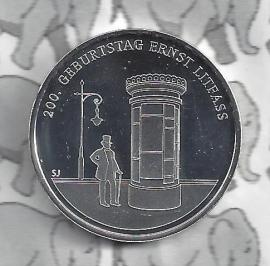 """Germany 20 eurocoin 2016 (79) """"200ste verjaardag van Ernst Litfass"""" (Silver)"""