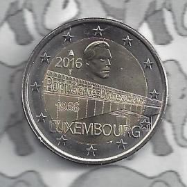 "Luxemburg 2 euromunt CC 2016 (20e) ""Charlotte brug"""