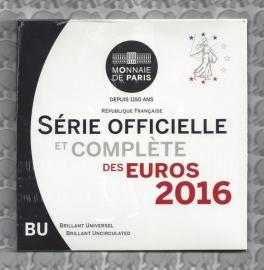 Frankrijk BU set 2016
