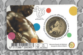 "België 2,5 euromunt 2019 ""400 jaar Manneken Pis"" in coincard Nederlandse versie"