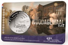"Nederland 5 euromunt 2020 (46e) ""Woudagemaal vijfje"" (in coincard)"
